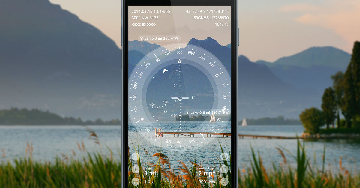Spyglass GPS & Compass with Augmented Reality Goes on 50%-off Sale Image