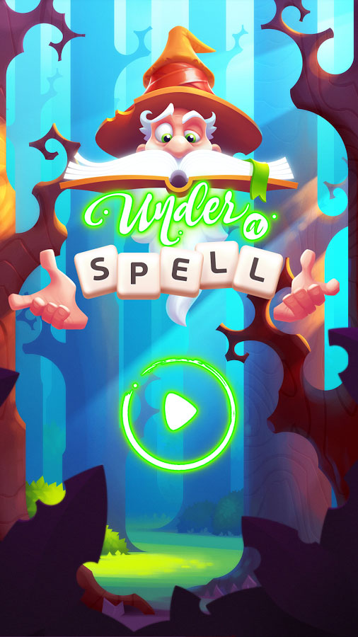 Under a Spell – Word Puzzle Game for iPhone, iPad, iOS and